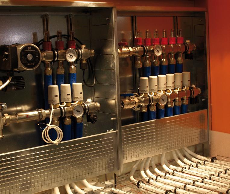 Termoidraulica urbani vicenza montecchio maggiore impianti di riscaldamento radiatori - Collettori per riscaldamento a pavimento ...